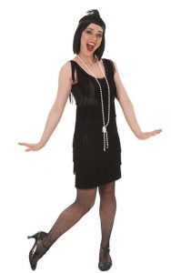 Disfraces para mujeres De Flapper