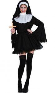 Disfraces para mujeres De monja