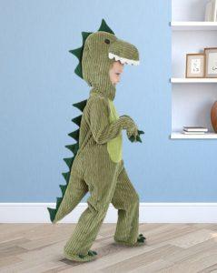 disfraz de dinosaurio para niño