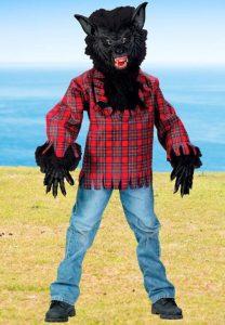 disfraz para adolescente de hombre lobo