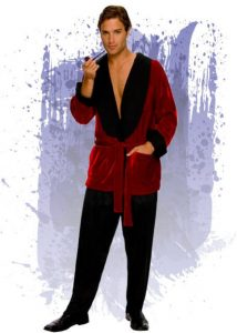 disfraz para hombre de hugh hefner