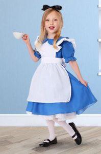 disfraz para niña de alicia en el pais de las maravillas