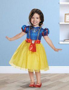disfraz para niña de blancanieves
