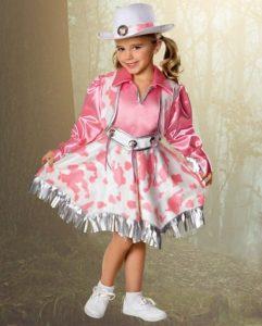disfraz para niña de vaquera