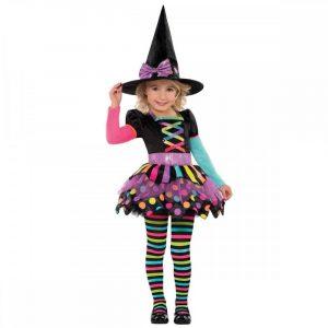 disfraz bruja niña halloween