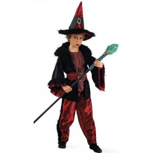 disfraz de brujo para niño