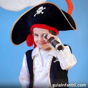 disfraz de pirata niño casero