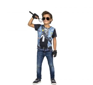 disfraz de rockero niño