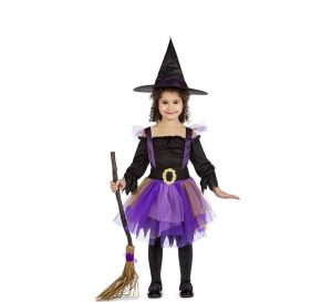 disfraz halloween niña bruja