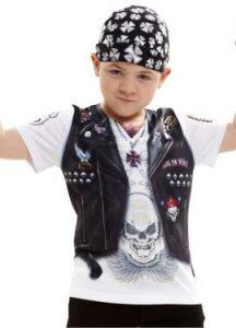 niños rockeros disfraz